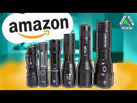 Testing The Best Rated Flashlights On Amazon