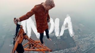One of kold's most viewed videos: climbing the tallest crane in India! - India vlog part 3