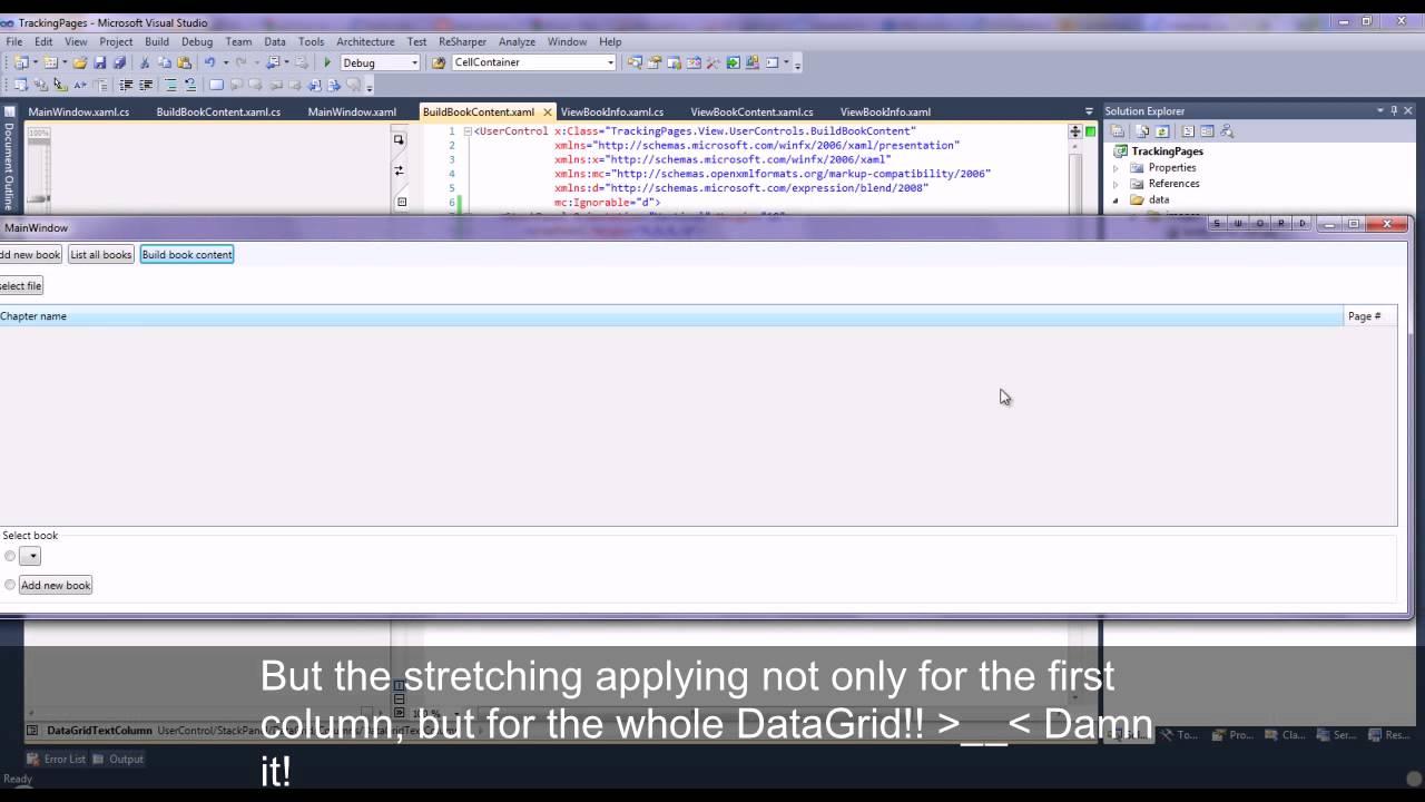 WPF DataGrid stretch column problem when Window SizeToConent=Width*