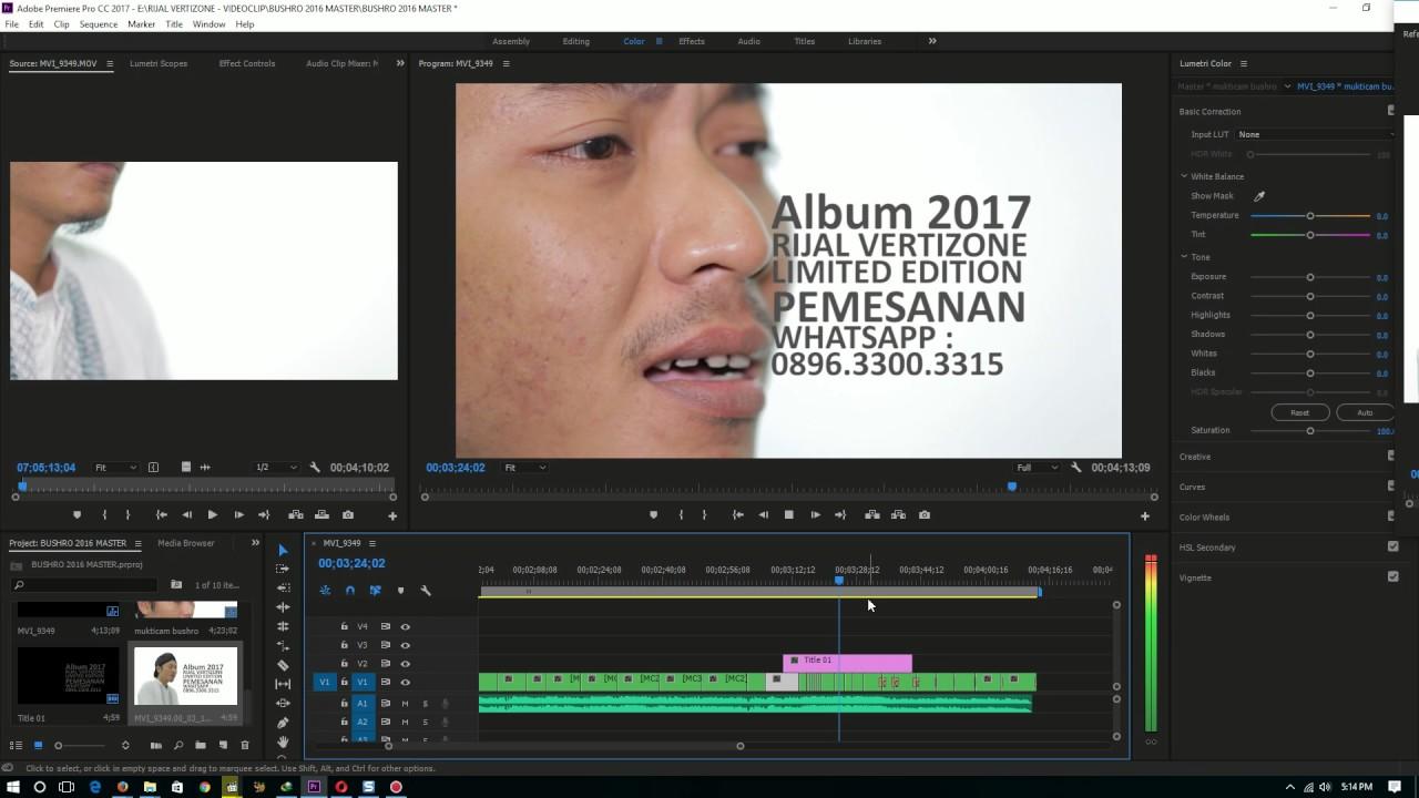 Download Rijal Vertizone - Behind the scene ALBUM PERDANA 2017