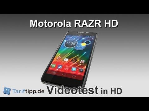 Motorola RAZR HD | Test in HD (deutsch)