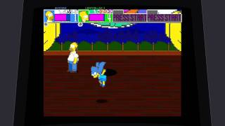 The Simpsons Arcade Game - Gameplay