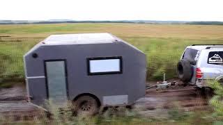 Мой самодельный дом на колесах (Испытание) Подробности в описании видео