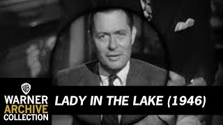 Lady in the lake (1946)back print on dvd: bit.ly/ladyinlakerobert montgomery stars and directs this snappy adaptation of raymond chandler's hard-boiled...