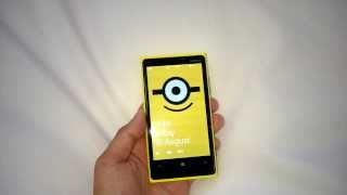 Nokia Lumia 925 Pro Cam Stereo Audio minion ringtone wallpaper