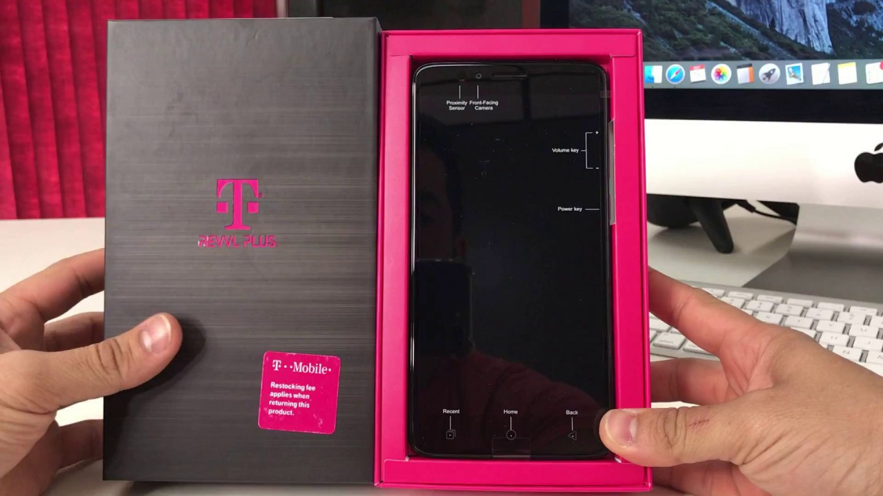 Unboxing and Quick Specs Review of the T-Mobile REVVL Plus