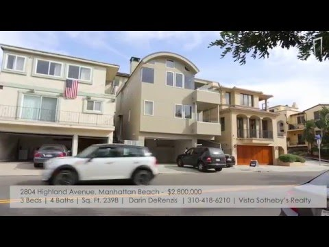 Manhattan Beach Real Estate  Open Houses: Jan 2324, 2016  MB Confidential