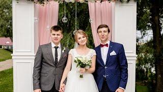 Интервью с гостями на потрясающей свадьбе. Фрагмент SDE-клипа. Ведущий Владимир Мартынов