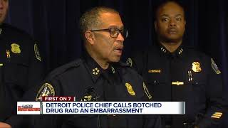 Detroit Police Chief calls botched drug raid an embarrassment
