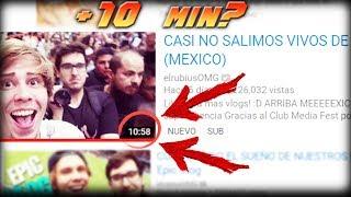 Porque los YouTubers extienden sus videos a más de 10 Minutos?