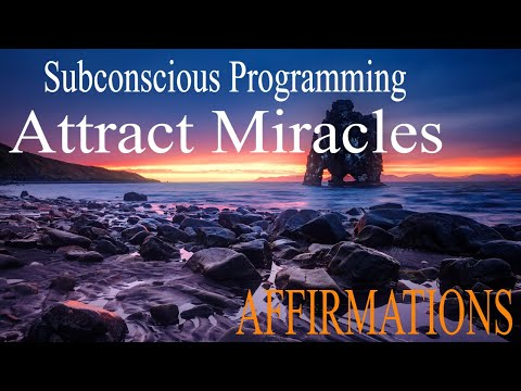 MANIFEST MAGIC & Opportunities | I AM Affirmations While You Sleep | Subliminal Programming Wealth