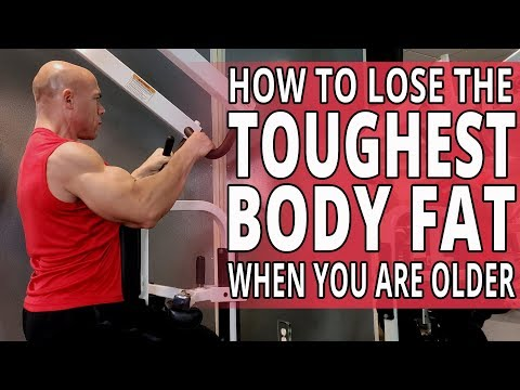How To Lose The TOUGHEST BODY FAT When You Are Older - Workouts For Older Men LIVE