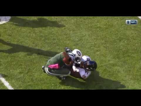GENO SMITH - INJURY vs. Ravens (Week 7)