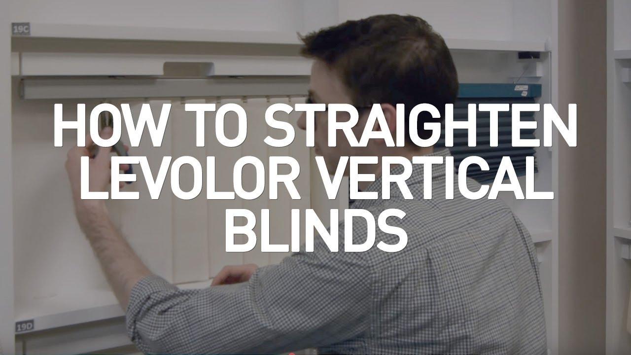 levolor vertical blinds room darkening how to fix levolor vertical blinds youtube