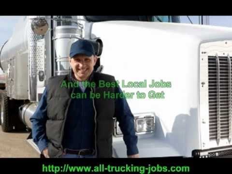 Get a Local Truck Driving Job