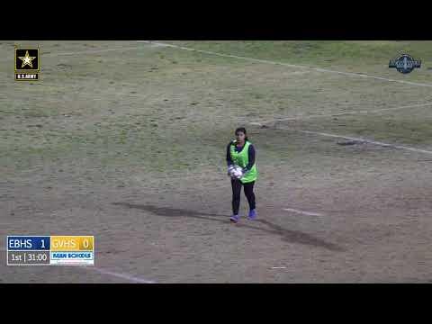 Girls Soccer East at Golden Valley