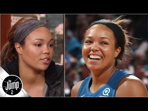 napheesa-collier-wants-to-be-the-rare-wnba-rookie-of-the-year-not-drafted-no.-1-overall-|-the-jump