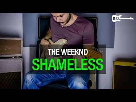 The Weeknd - Shameless - Electric Guitar Cover by Kfir Ochaion