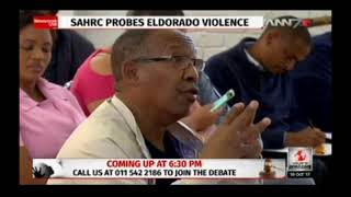 SAHRC investigates Eldorado violence via ANN7
