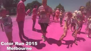 Color Run 2015 Melbourne ( Volunteering)
