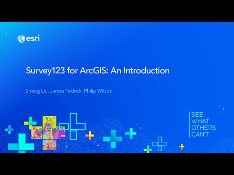 Survey123 for ArcGIS: An Introduction