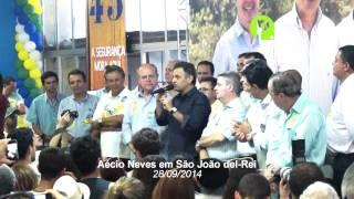 Aécio Neves em São João del-Rei 28/09/2014