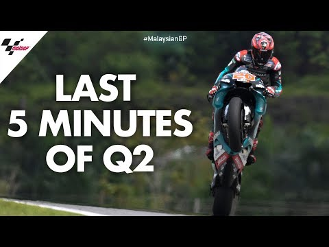 Last 5 minutes of Qualification   2019 #MalaysianGP