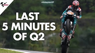 Last 5 minutes of Qualification | 2019 #MalaysianGP