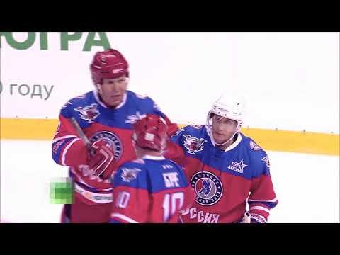 сказочный хоккеист Путин