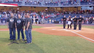 Nashville Sounds invite Barbershop Harmony Society HQ to sing The Star-Spangled Banner