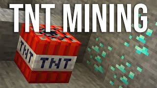 NEW Minecraft 1.14 TNT features for TNT Mining! Snapshot 19w11a
