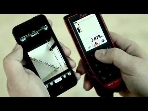leica disto d510 distance meter working with apps youtube. Black Bedroom Furniture Sets. Home Design Ideas