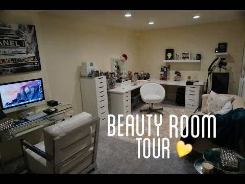 BEAUTY ROOM TOUR | MannyMua