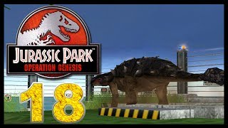 Jurassic Park: Operation Genesis - Episode 18 - Ankylosaurus is here