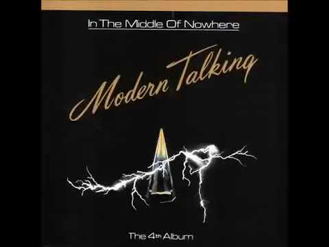 Modern Talking-In The Middle Of Nowhere Album '1986 (Reverse)