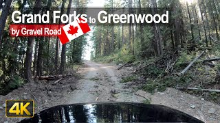 Backroad Trip from Grand Forks to Greenwood in British Columbia 🇨🇦