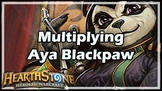 [Hearthstone] Multiplying Aya Blackpaw