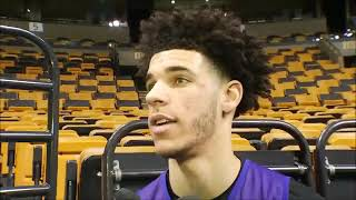 Lonzo Ball Reacts To Liangelo (Brothers arrest) in China