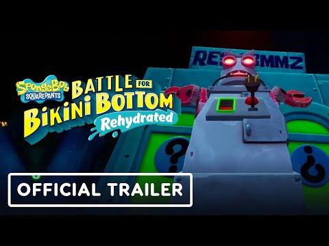 SpongeBob SquarePants: Battle for Bikini Bottom Rehydrated - Official Rock Bottom Trailer