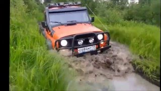 Off roading UAZ Покатушки на УАЗе КОМИ Northern Lights Extreme 4x4