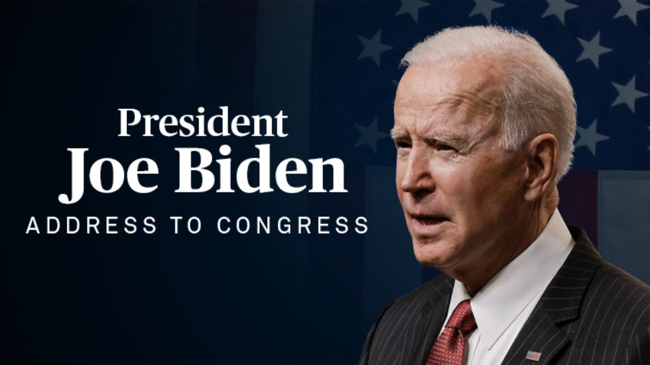WATCH LIVE: President Joe Biden's address to a joint session of Congress
