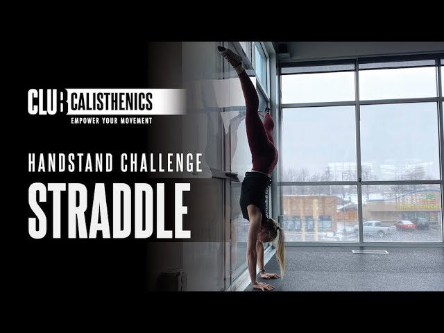 ClubCal Handstand Challenge - DAY 2 - Straddle Hold
