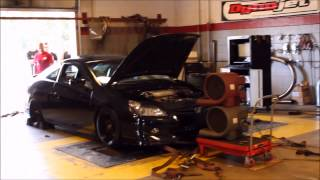 2005 Honda Accord 6 speed Dyno pull