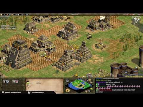 1v1 MegaRandom vs _DauT_ - Aztecs vs Turks