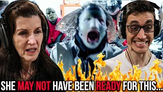 """MOM REACTS TO SLIPKNOT - """"Nero Forte"""" (Her FIRST TIME Hearing SLIPKNOT!!)"""