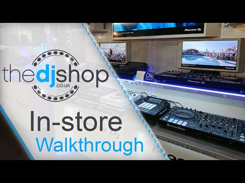 The DJ Shop In-Store Walkthrough