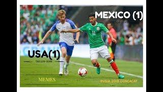 MEMES MEXICO VS ESTADOS UNIDOS RUSIA 2018 CONCACAF ELIMINATORIAS