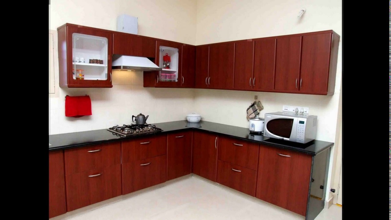 Aluminium kitchen cabinet design india - YouTube