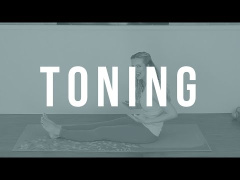 Lazy Day Total Body Toning Bodyweight Workout/ Great for Fatigue Days