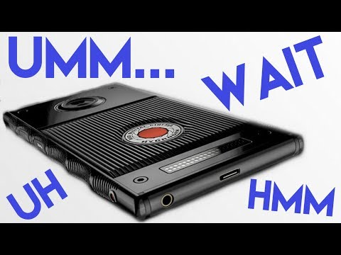 Red Digital Hydrogen 1 Phone Impressions